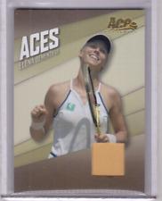 ELENA DEMENTIEVA 2007 Aces Russia Russian Tennis #AC-9 Match-Worn Jersey Card