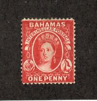Bahamas - SG# 33 MH / wmk crown CC/ Perf 14   -   Lot 0820089