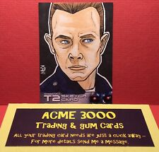 Unstoppable - Terminator 2 T2 - KEVIN P WEST - Sketch Art Card - T-1000