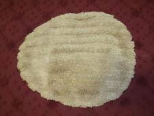 Luxury Toilet Seat Lid Cover / Rug - Beige