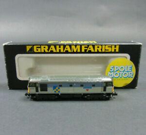 No. 8316 Graham Farish N Gauge Class 33 Diesel BR Construction Service Boxed