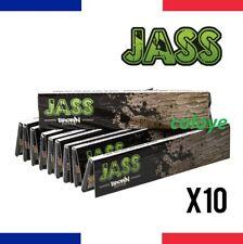 JASS Slim BROWN Lots 10 Carnets de Feuilles à Rouler