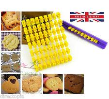 Alphabet lettres nombres gaufrage presse timbre de cookie anniversaire love valentine