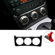 Carbon Fiber Interior Console Switch Trim Sticker Cover For Nissan 350Z 2006-09