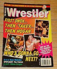 1997 The Wrestler Wrestling Magazine WWF WWE WCW Ric Flair Bret Hart Stone Cold