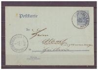 Deutsches Reich, Ganzsache P 63 Obereisenheim nach Heilbronn 03.07.1907