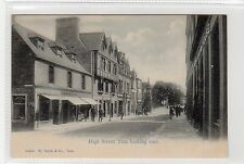 HIGH STREET, TAIN: Ross-shire postcard (C23781)