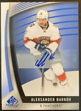 2017-18 SP Game Used - Aleksander Barkov Auto #21 Panthers SPGU