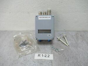 2x Neue Einstellbarere Druckschalter Dungs 30-150 mbar  Differenzdruckschalter