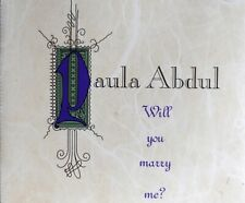 Paula Abdul Will You Marry Me CD Single