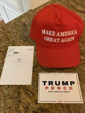 Official Donald J. Trump Make America Great Again MAGA Red Hat Cap Cali-Fame USA
