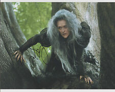 MERYL STREEP Signed 8 x 10 Color Photo Autograph w/ COA Nice Pic & RARE AUTO