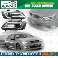 New Design Fit Holden Commodore VE Series I&II 2006-2013 Head Light Set L&R DRL