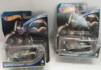 Hot Wheels DC Universe Armored Batman Vehicle, Lot of 2