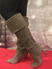 Suede Over the Knee Boots - Colin Stuart - Gorgeous!....Sz 9