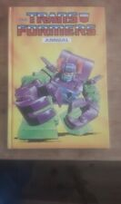 THE TRANSFORMERS ANNUAL 1988. MARVEL. GOOD.