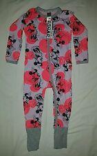 Bonds Disney Zippy Wondersuit Minnie Sweetie Pink Size 2/18-24 Mnths Mickey BNWT