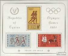 Cyprus block2 (complete issue) unmounted mint / never hinged 1964 Olympics