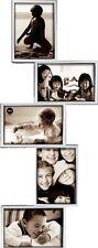 Portafoto Isernia Balvi per 5 foto da parete 10x15 col silver SPEDIZIONI VELOCI
