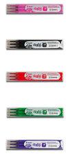 3er-Pack Ersatzminen für Tintenroller Frixion Point 0,3mm, div. Farben