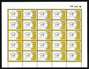 San Gregorio Polanco ROTARY CLUB URUGUAY STAMP MNH SHEET #2046 cat value $50