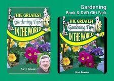 Greatest Gardening Tips Book & DVD