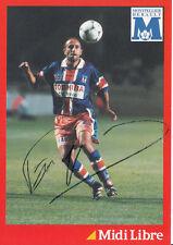 Pascal Fugier HSC Montpellier AK 90er Jahre Original Signiert +A28627