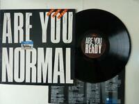 10 CC Look Here? Are You Normal Vinyl LP with Lyric Inner 9102 505 A1/B1