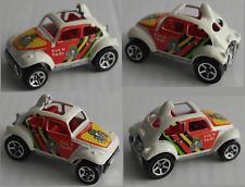 """Hot Wheels – VW Käfer """"Baja Bug"""" """"Bug´n Taxi"""" India gut erhalten"""