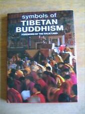 Symbols of Tibetan Buddhism, foreword by Dalai Lama, Color Photos, HCDJ, 2000