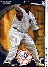 CC C.C. SABATHIA Fathead Tradeables 5x7 Yankees Sticker