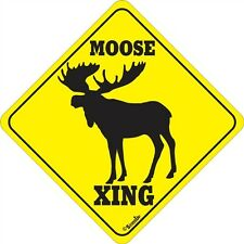 Moose Xing Sign