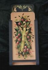 HELEN CAVIN Asparagus and Raspberries Decorative Tole Painting Pattern Packet