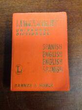 Langenscheidt Miniature SpanishEnglish Universal Dictionay(1964)PreOwnedBook.com