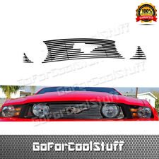 For Ford Mustang Gt 2013 Upper Billet Grille Grill Insert (With Logo Cut-Out)
