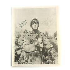 "Actor John Hart ""Hawkeye"" Double Signed Autographed Photograph - aka Lone Ranger"
