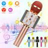 2021 Wireless bluetooth Karaoke Microphone Speaker Handheld KTV Player Mic Party