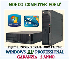 COMPUTER FUJITSU ESPRIMO S.F.F / INTEL CORE 2 DUO E7300/ WINDOWS XP PROFESSIONAL