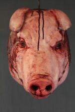Life Size Pig Head - Halloween Prop & Decoration - The Walking Dead Hog Corpse