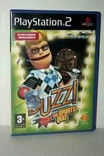 BUZZ! THE SPORTS QUIZ GIOCO USATO OTTIMO STATO PS2 VERSIONE ITALIANA VBC 48054