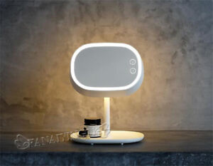 USB Power Supply Lamp Stand Mirror Table Lamp LED Cosmetic Mirror Makeup  HB005