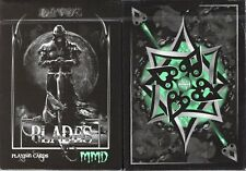 Blades Bloodspear Emerald Playing Cards Poker Size Deck USPCC Custom Limited New