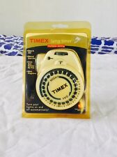 Timex Lamp Timer Multiple Setting Lights On Off 1875 Watt Capacity Child Safe