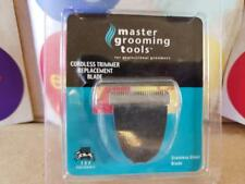 Master Grooming Tools Cordless Clipper Trimmer Replacement Blade Stainless Steel