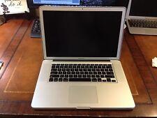 "Apple MacBook Pro_2.66GHz, 480GB SSD, 15"" (Anti-Glare Screen) Mid-09, 8GB RAM"
