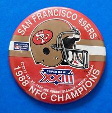 Vintage San Francisco 49ers Super Bowl XXIII Pin-Estate Sale