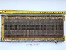 Vintage Ferrite Magnetic Core Memory module Large CORES Military USSR n2