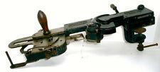 Antique Gritzner Patent hand crank sole stitcher leather sewing machine cobbler