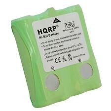 HQRP Batería recargable para Cobra Radio de dos vías PR240, PR250-WX-C, PR255-VP