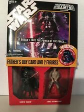 Hasbro Star Wars 30th I Am Your Father's Day 2-Pack MIB New 2007 Wal-Mart